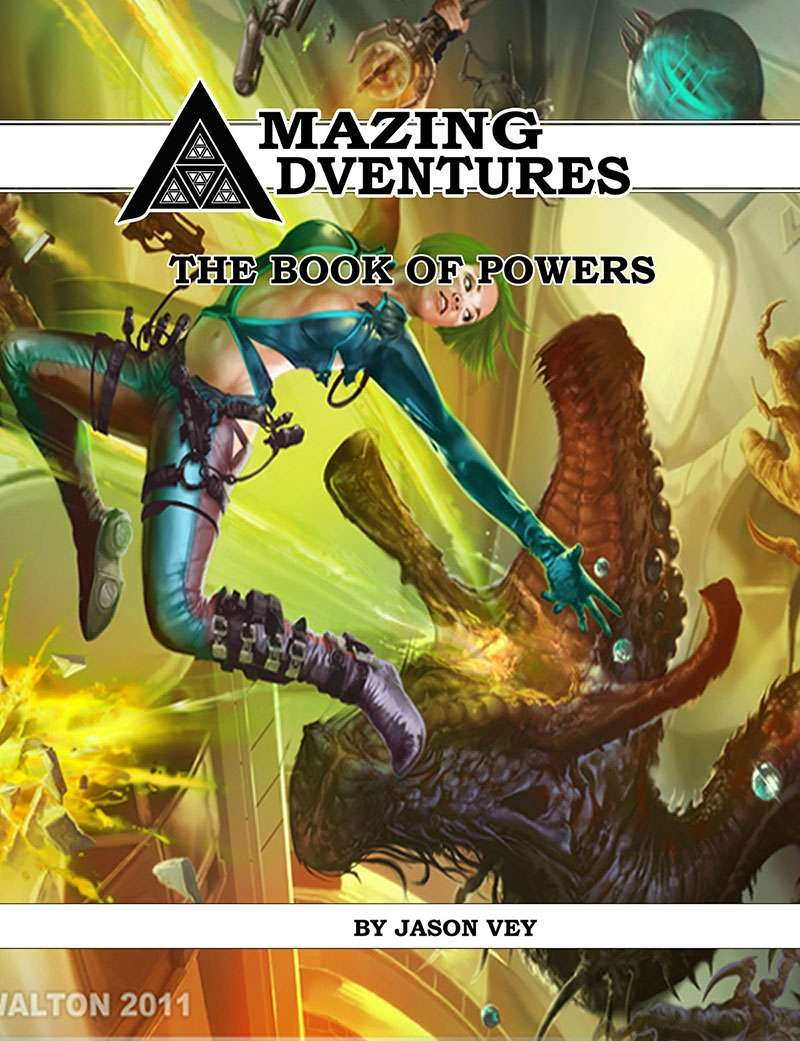 Amazing Adventures Book of Powers