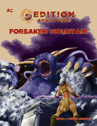 A8 Forsaken Mountain -- 5th Edition Adventure