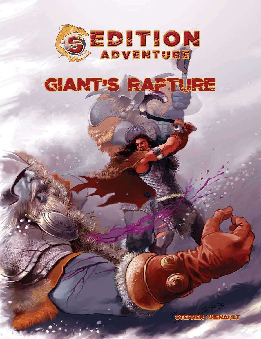 Cover of Giants Rapture