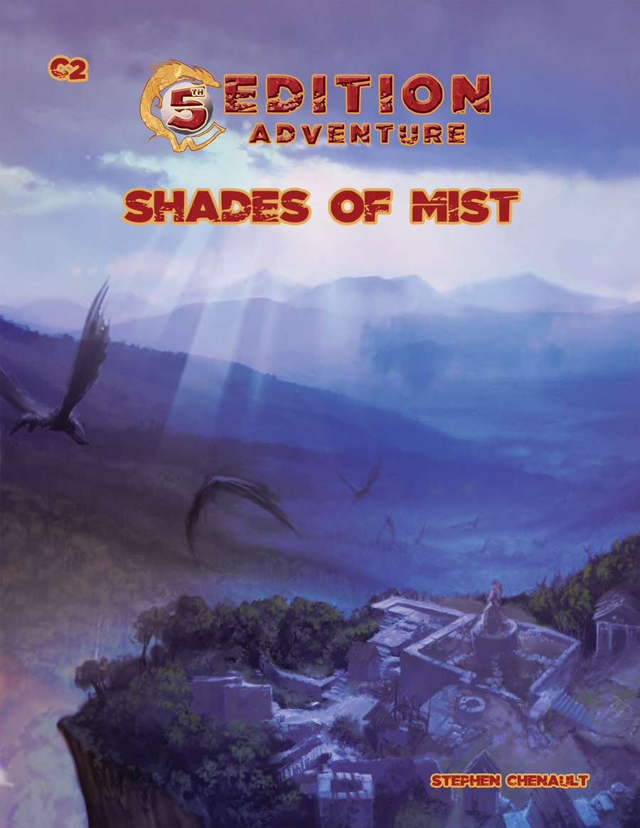 5th Edition -- C2 Shades of Mist - Troll Lord Games | 5th Edition