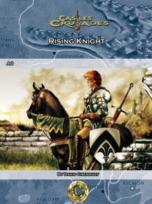 Cover of A0 - The Rising Knight