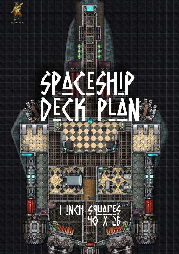 Spaceship Map Stealth Dropship Graemation