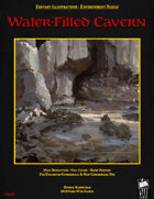 Fantasy Art - Water-Filled Cavern