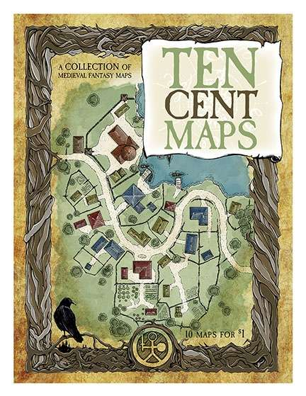 Ten Cent Maps