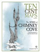 Ten Cent Maps - The Spires of Chimney Cove