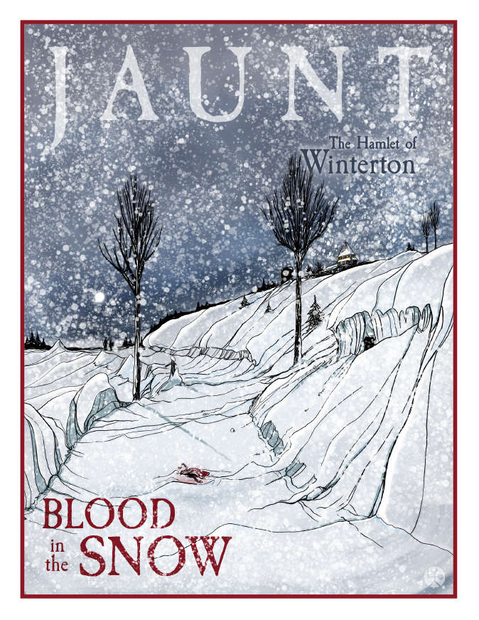 Cover of Jaunt: Blood in the Snow