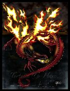 Stock Art: Flame Cursed Dragon