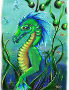 Stock Art: Sea Dragon