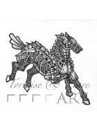 Stock Art: Clockwork Horse