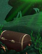 THC Stock Art: BACKGROUND - Underwater Treasure