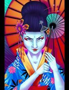 THC Stock Art: Geisha - Dangerous Women series