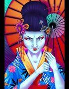 THC Stock Art: Geisha - Dangerous Women series