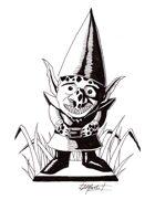 THC Stock Art: Garden Goblin (.png)
