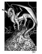 THC Stock Art: Majestic Dragon