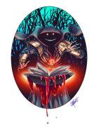 THC Stock Art: Bloodweaver Cultist (png)