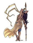 THC Stock Art: Spear Dancer