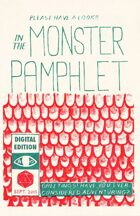 Monster Pamphlet Issue 1