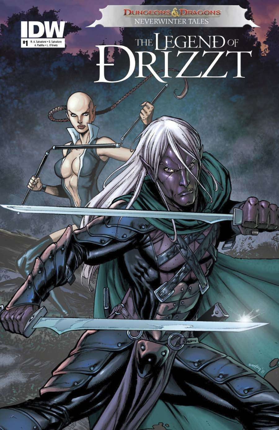 IDW Action Pack [BUNDLE] - IDW Publishing | D&D: The Legend of Drizzt |  G I  Joe: A Real American Hero | Magic: The Gathering | Dragon Age | Mobile