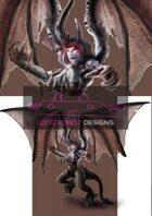 Angry Female Gargoyle  - High Quality RPG Stock Art