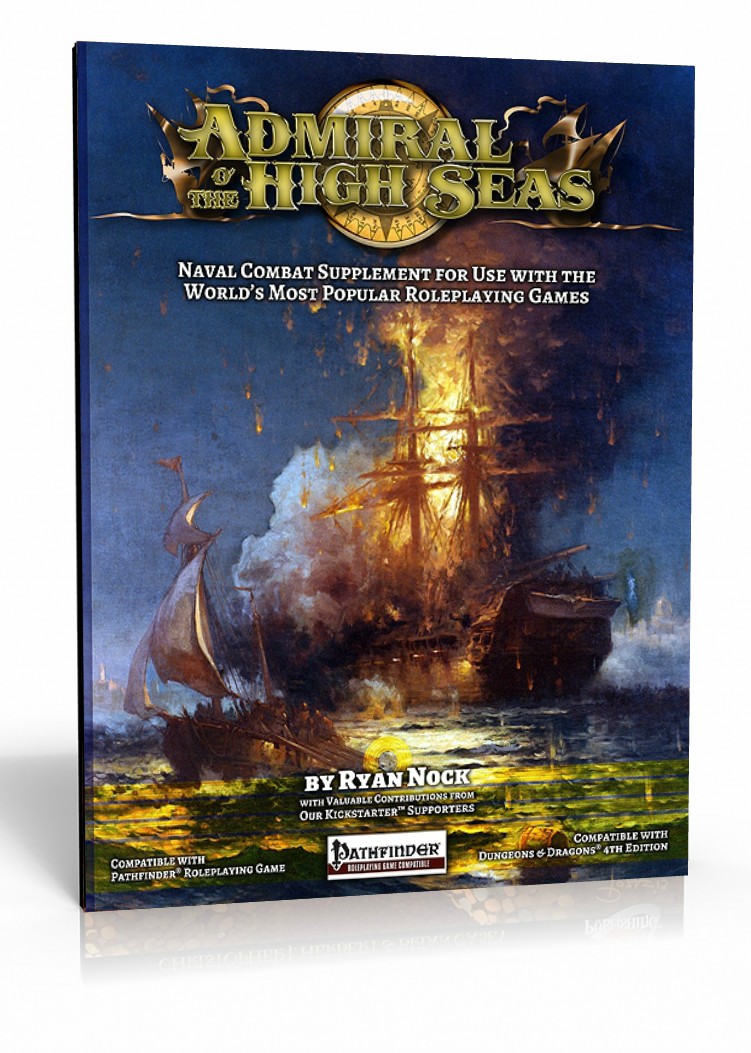 Admiral o' the High Seas: The Naval Combat Supplement for