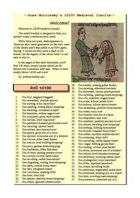 Russ Morrissey's 1d100 Medieval Insults