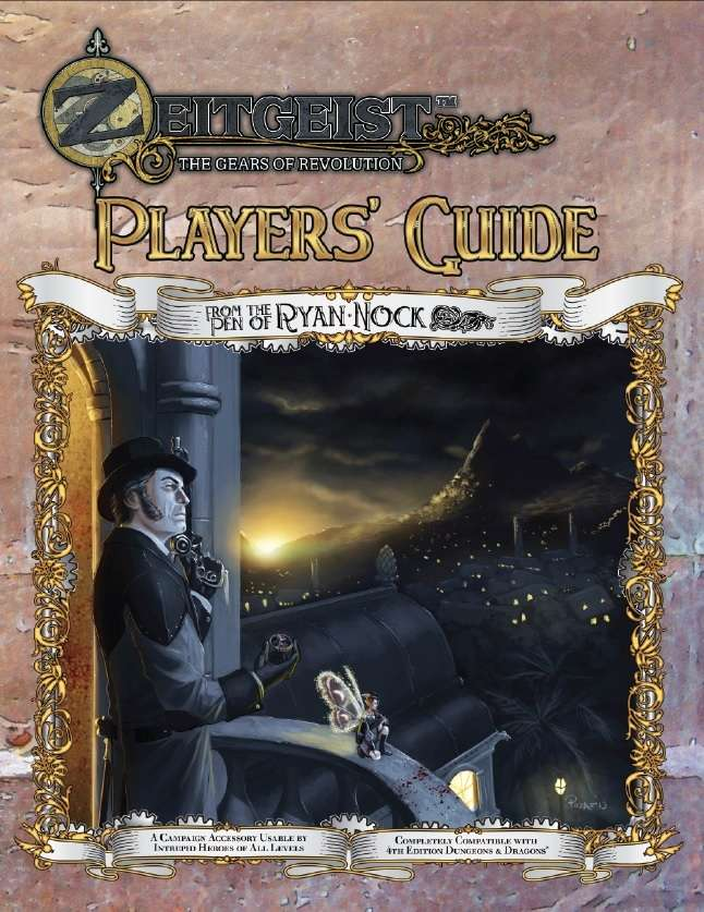 ZEITGEIST Adventure Path Extended Player's Guide (4E)