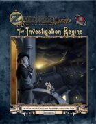 """ZEITGEIST: The Gears of Revolution"" - Act One: The Investigation Begins (Pathfinder)"