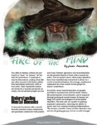 Fire of the Mind [5E]