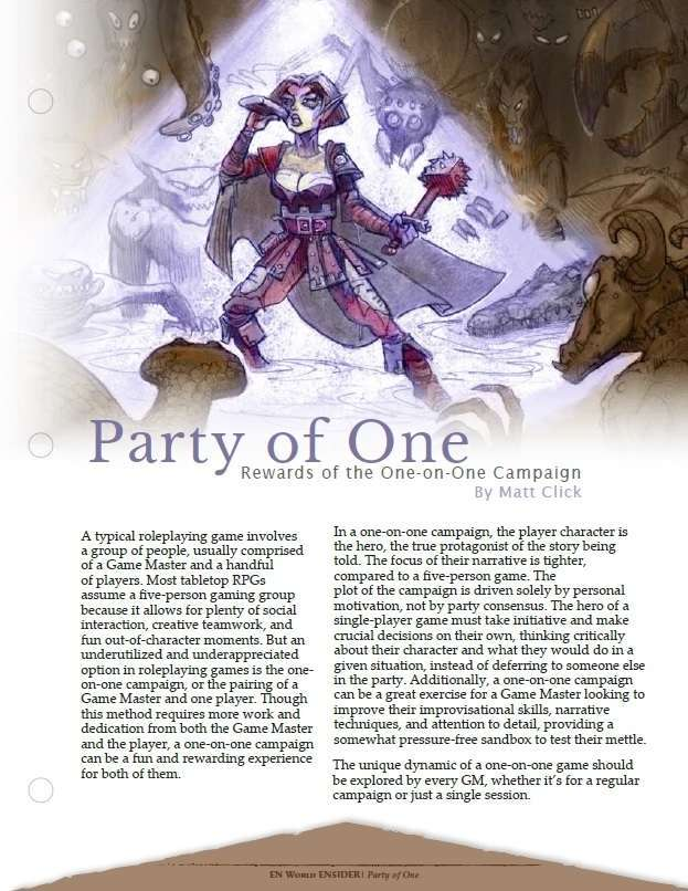 Party of One [5E]