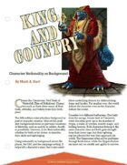 King and Country: Character Nationality as Background [5E]