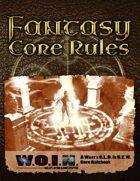 [WOIN] Fantasy Core