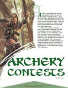 TRAILseeker 002: Archery Contests (Pathfinder)