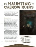 The Haunting of Calrow Ruins [5E]