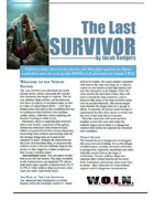[WOIN] The Last Survivor