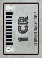 [WOIN] Credit Chip Card Deck (120 Cards)