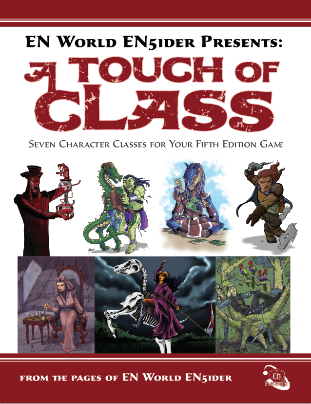 [5E] A Touch of Class: 7 New Classes for 5th Edition