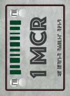 Tabletop Money 1 Mega-Credit Deck (40 Cards)