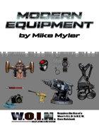 [WOIN] Modern Equipment