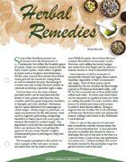 TRAILseeker 013: Herbal Remedies