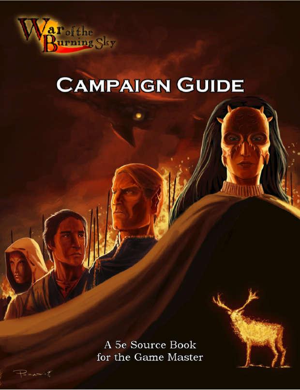 War of the Burning Sky 5E Campaign Guide - EN Publishing