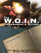 The WOIN GM Screen (Landscape)