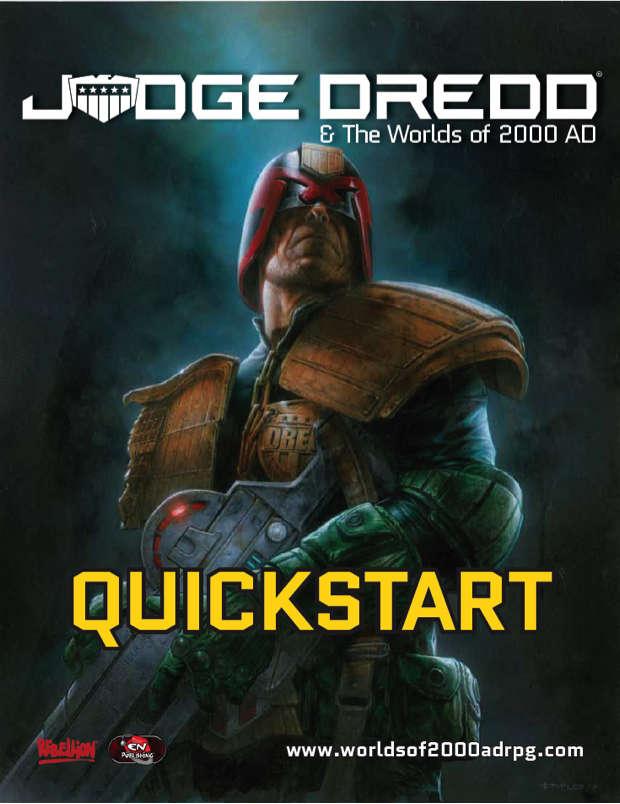 Judge Dredd & The Worlds of 2000 AD Quickstart