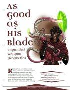 EN5ider #29 - As Good As His Blade: A Dozen New Weapon Properties