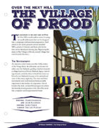 EN5ider #30 - Over the Next Hill: The Village of Drood