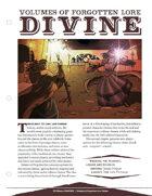 EN5ider #31 - Volumes of Forgotten Lore: Divine