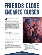 EN5ider #50 - Friends Close Enemies Closer