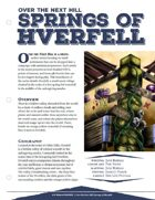 EN5ider #52 - Over the Next Hill: Springs of Hverfell