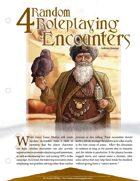 EN5ider #54 - 4 Random Roleplaying Encounters