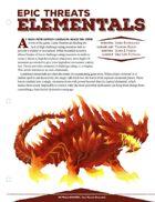 EN5ider #59 - Epic Threats: Elementals