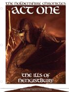 EN5ider #62 - Holdenshire Chronicles: The Ills of Hengistbury